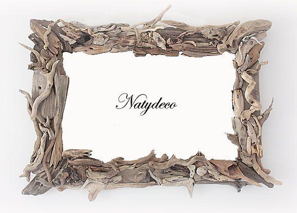 Miroir Bois Flotte Fabrication : miroir en bois flott? NATYDECO fabrication artisanale