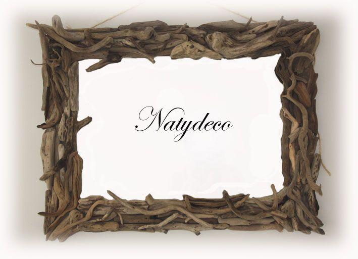 Decoration en bois flotte page 3 for Miroir en bois flotte